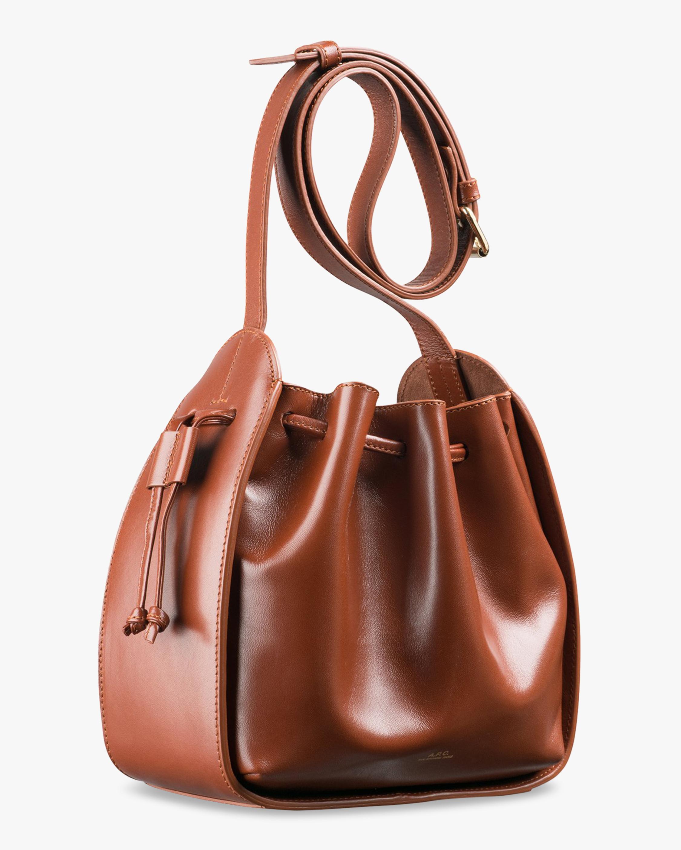A.P.C. Courtney Drawstring Bag 1
