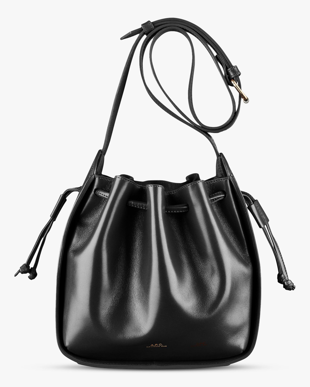 A.P.C. Courtney Small Drawstring Bag 1