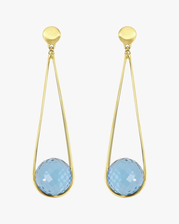 Dean Davidson Ipanema Blue Topaz Earrings 1