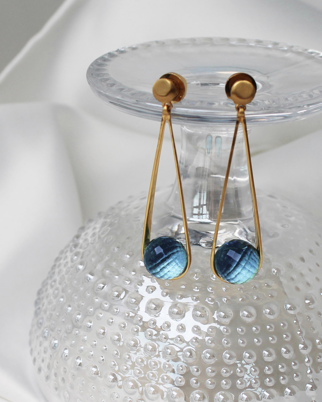 Dean Davidson Ipanema Blue Topaz Earrings 2