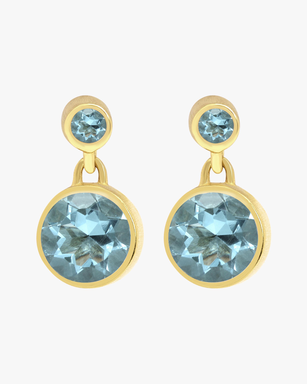 Dean Davidson Signature Blue Topaz Droplet Earrings 2