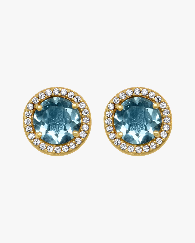Dean Davidson Signature Pavé Blue Topaz Earrings 2