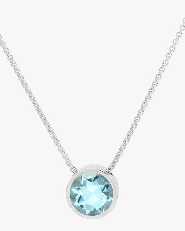 Dean Davidson Mini Signature Blue Topaz Pendant Necklace 0