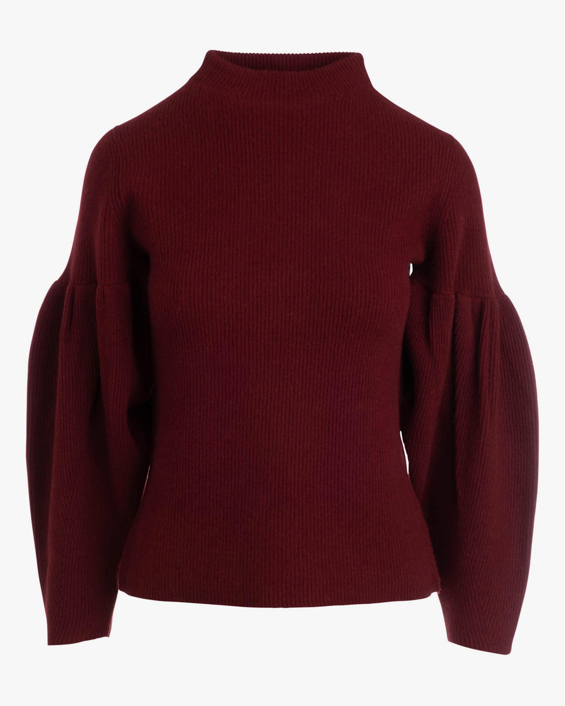 Naadam Pleated-Sleeve Cashmere Turtleneck 0