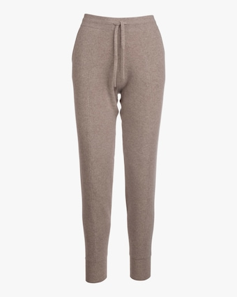 Naadam Cashmere Jogger with Rib Side Panel 2
