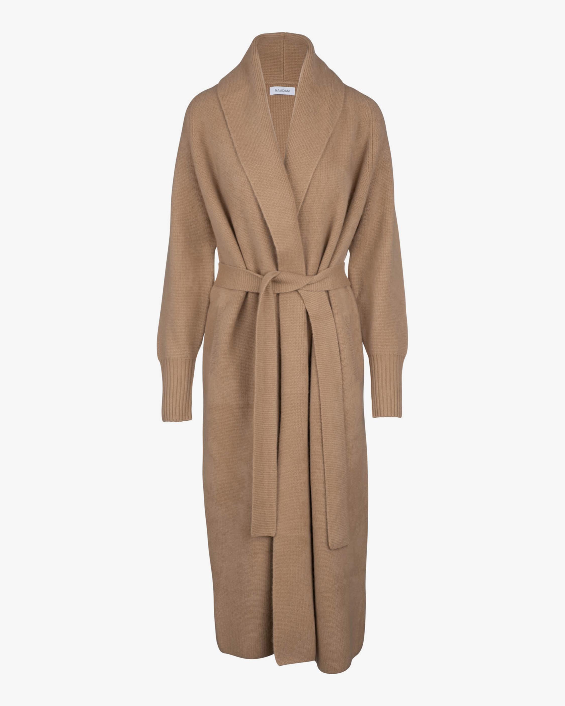 Naadam Half-Wrap Cashmere Coat 2