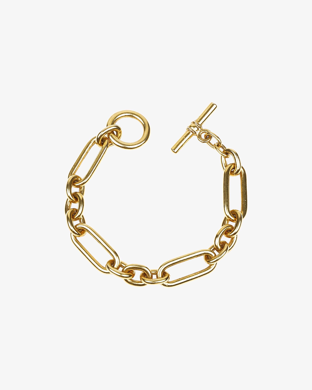 Ben-Amun Gold Alternating Link Bracelet 0