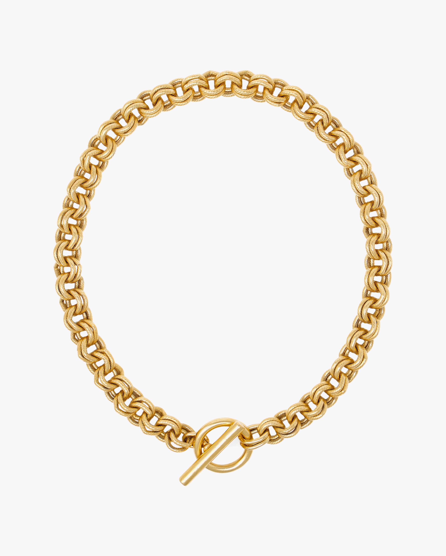Ben-Amun Gold Chain Link Necklace 0