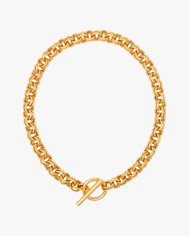 Ben-Amun Gold Chain Link Necklace 2