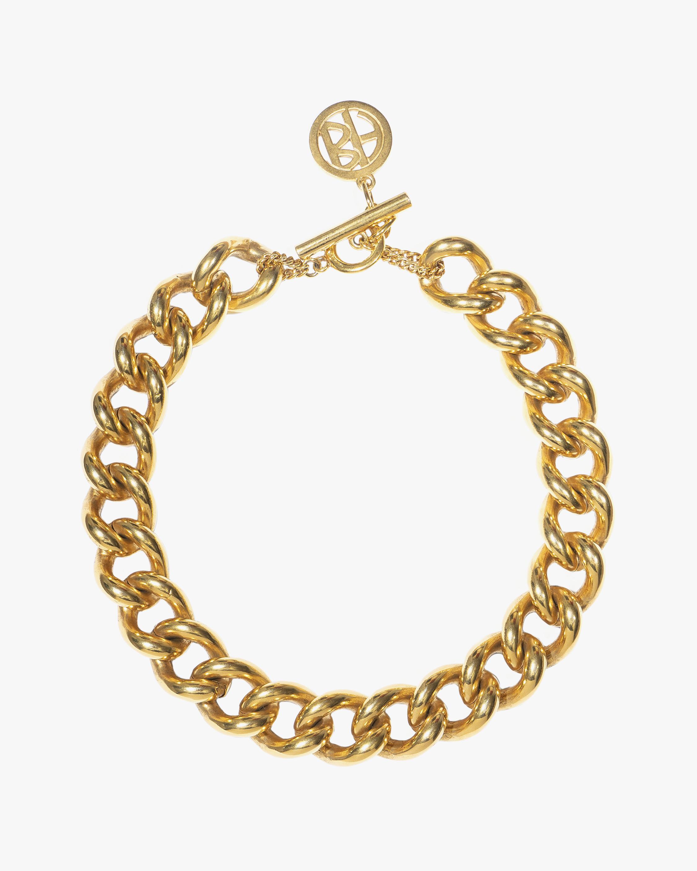 Ben-Amun Gold Wide Chain Necklace 0