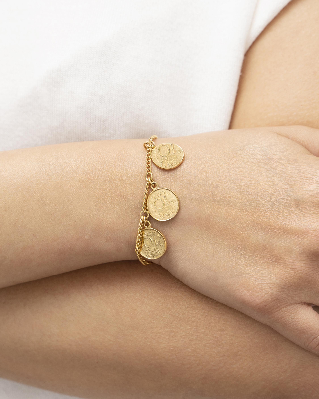 Ben-Amun Coin Station Bracelet 2