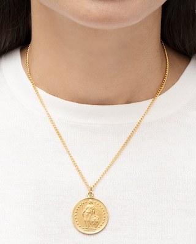 Ben-Amun Coin Pendant Necklace 2