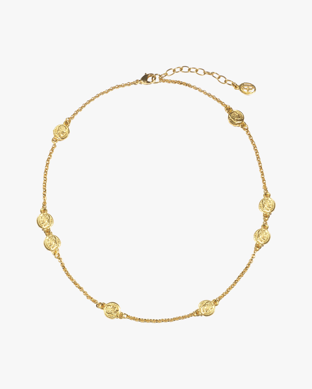 Ben-Amun Coin Station Necklace 0