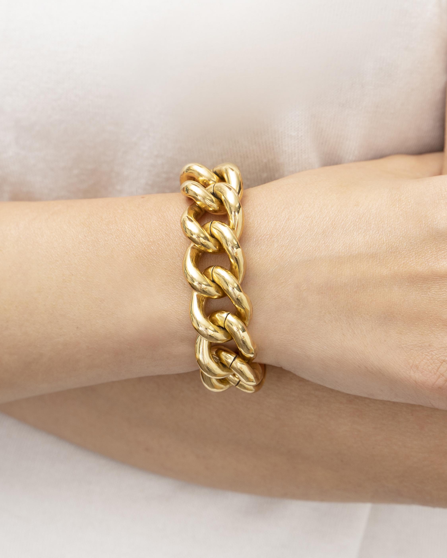 Ben-Amun Gold Chain Bracelet 1