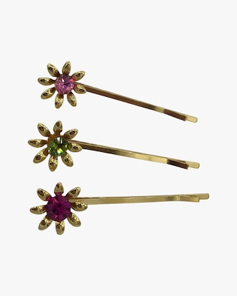 Dauphines of New York Garden Party Bobby Pin Set 2