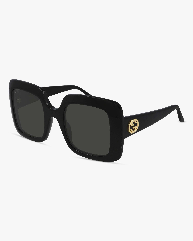 Gucci Black Square Sunglasses 0