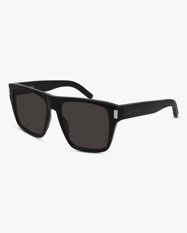 Saint Laurent Black Square Sunglasses 0