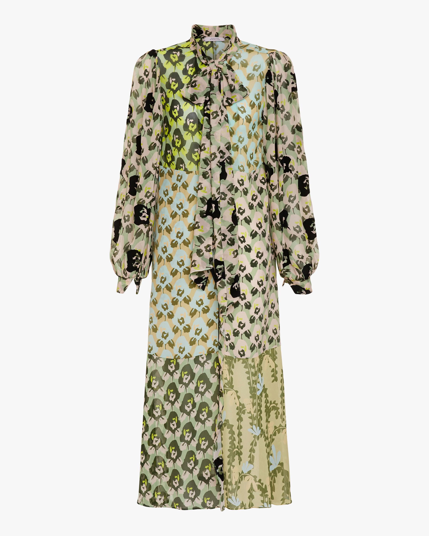 Dorothee Schumacher Flower Patch Midi Dress 0