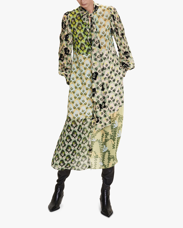 Dorothee Schumacher Flower Patch Midi Dress 2