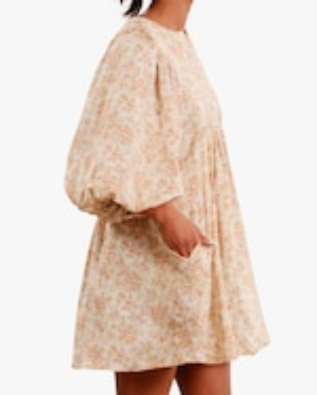 byTimo Vintage Floral Mini Dress 4