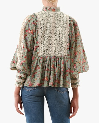 byTimo Wildflowers Blouse 2