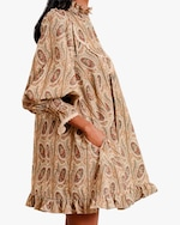 byTimo Paisley Mini Dress 2