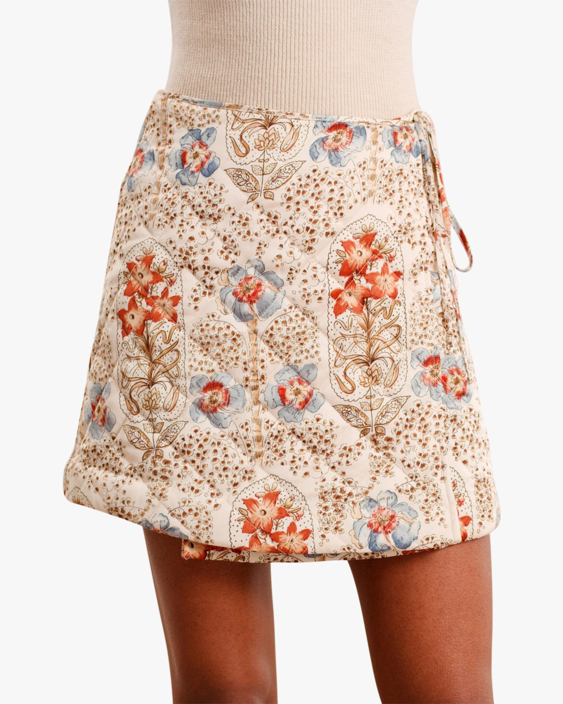 byTimo Vintage Wallpaper Mini Skirt 0