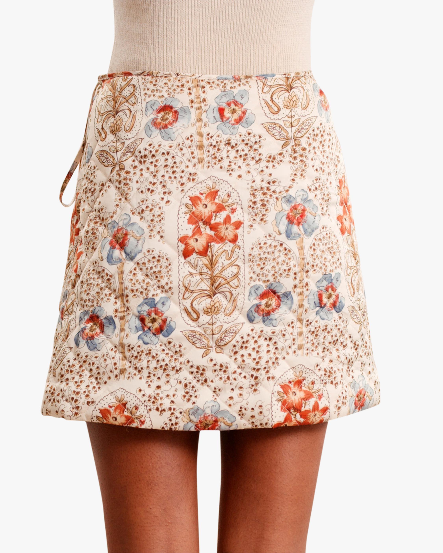 byTimo Vintage Wallpaper Mini Skirt 2