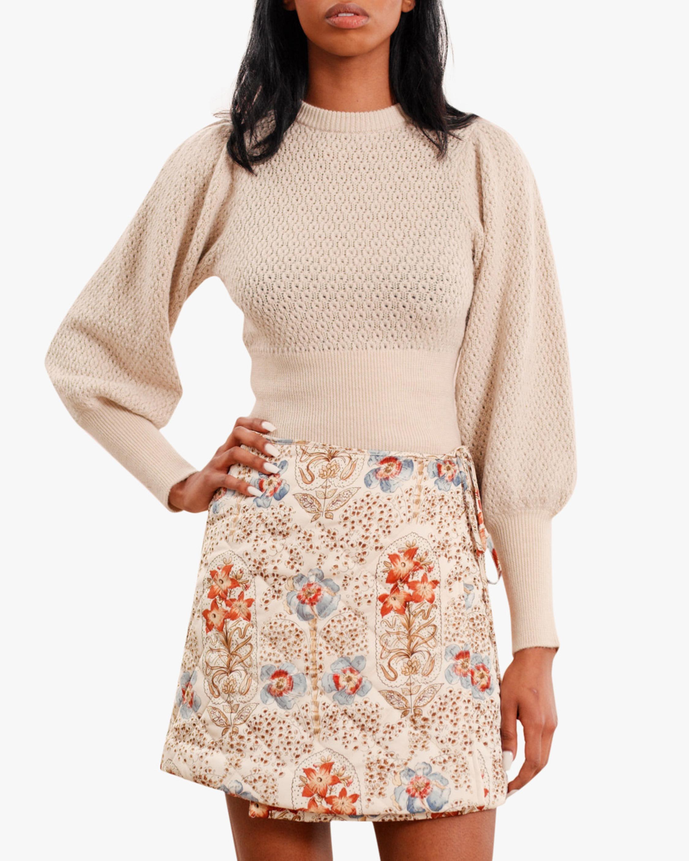 byTimo Vintage Wallpaper Mini Skirt 3