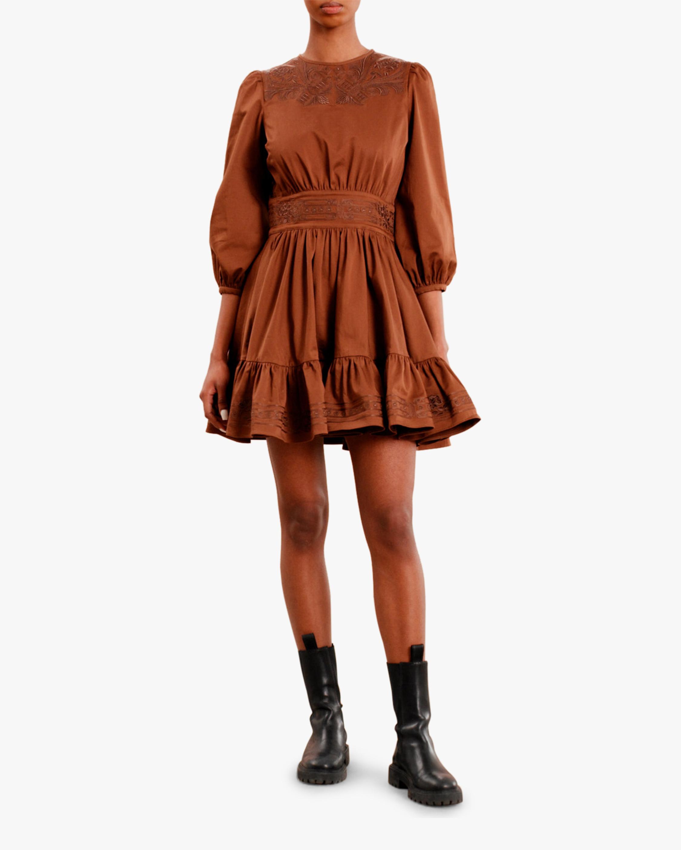 byTimo Brown Mini Dress 0
