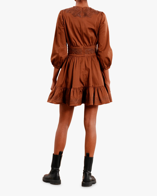 byTimo Brown Mini Dress 1