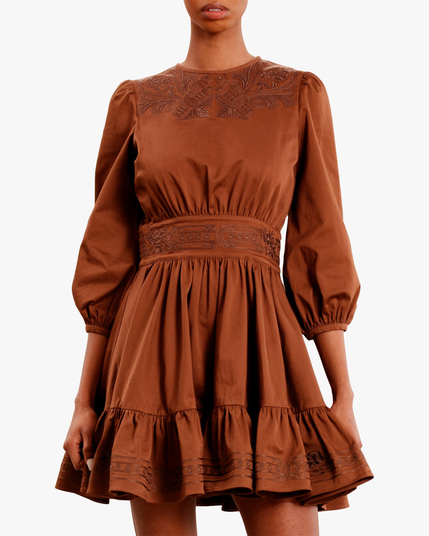 byTimo Brown Mini Dress 2