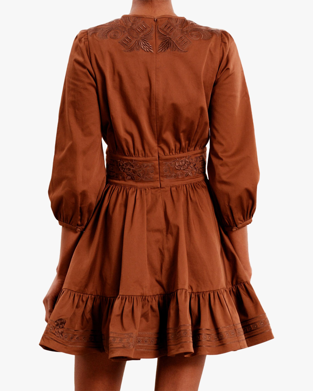 byTimo Brown Mini Dress 3