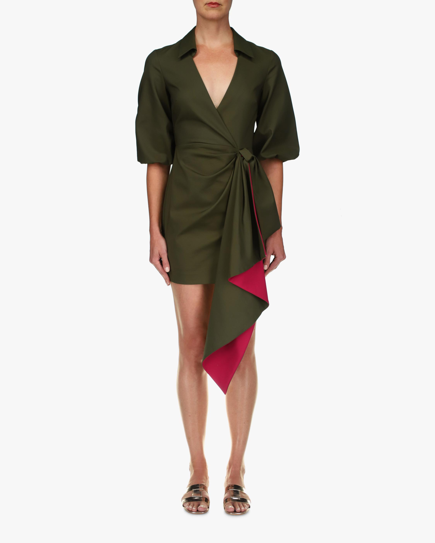 One33 Social Drape Wrap Mini Dress 0
