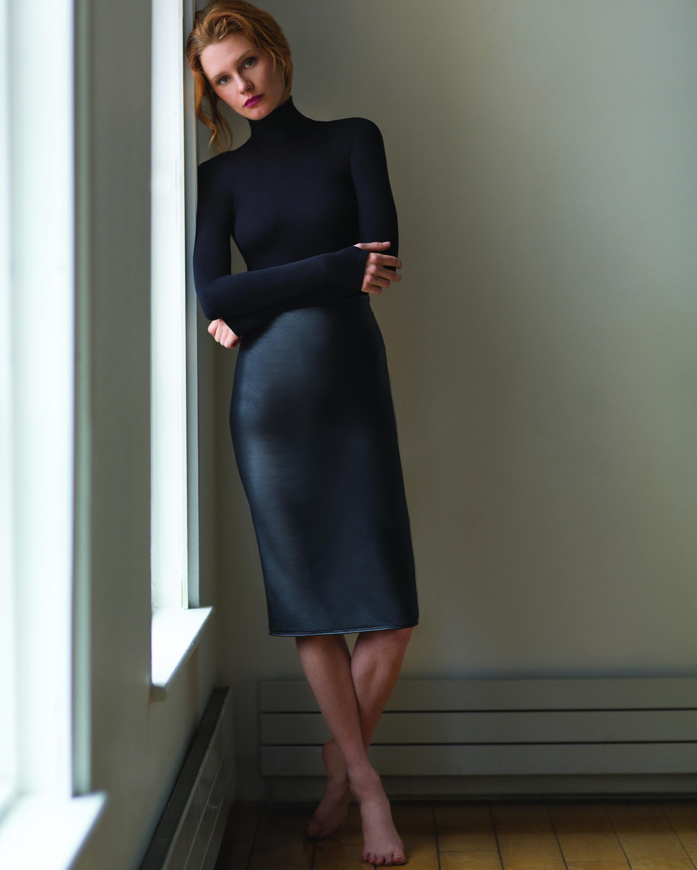 Commando Faux-Leather Midi Skirt 2