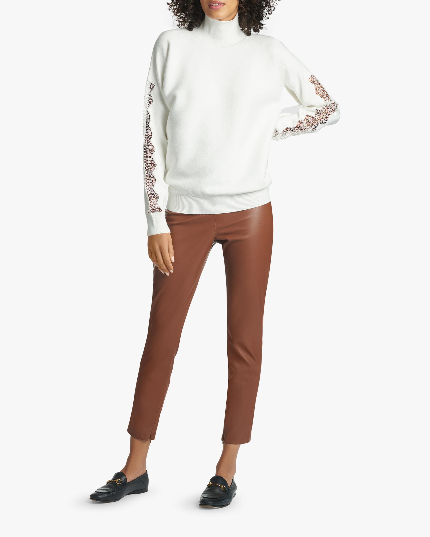 Sachin and Babi Meagan Vegan Leather Pants 1