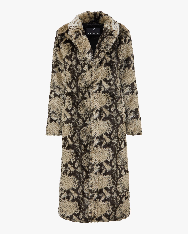 Unreal Fur Madam Grace Coat 0