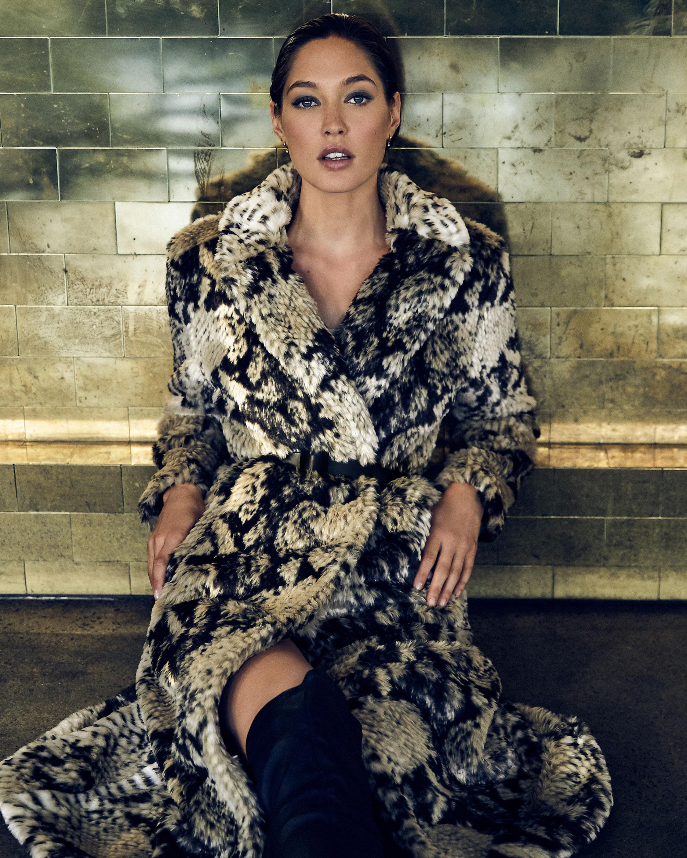 Unreal Fur Madam Grace Coat 1