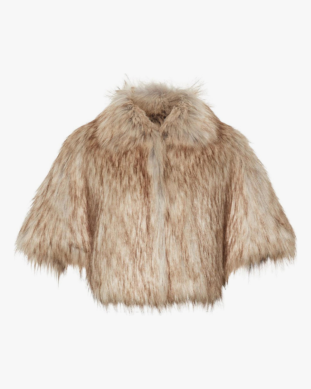 Unreal Fur Nord Faux Fur Cape 1