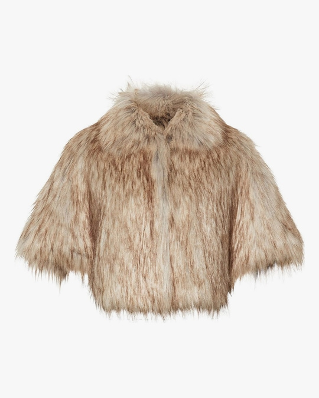 Unreal Fur Nord Faux Fur Cape 0