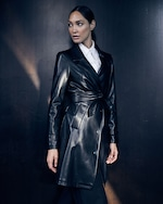 Unreal Fur Heroes Faux-Leather Coat 1
