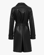 Unreal Fur Heroes Faux-Leather Coat 4