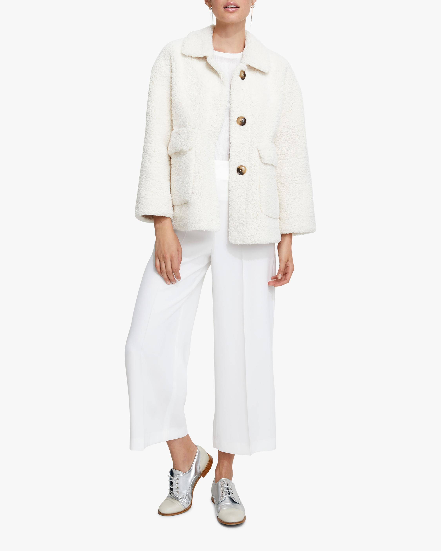 Unreal Fur Seashell Faux Shearling Jacket 2