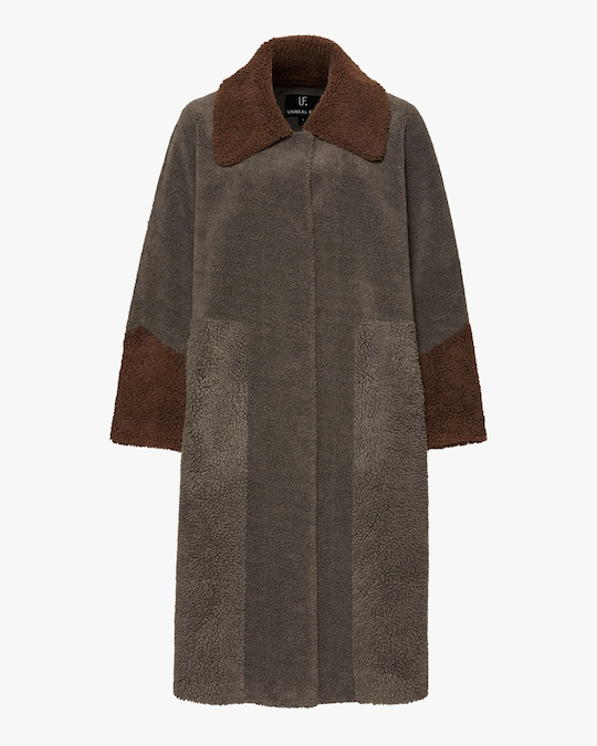 Unreal Fur Forever Chic Coat 0