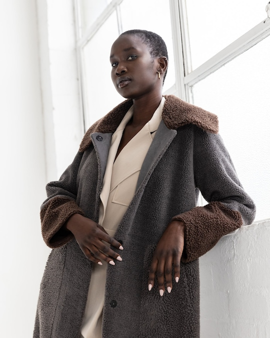 Unreal Fur Forever Chic Coat 1