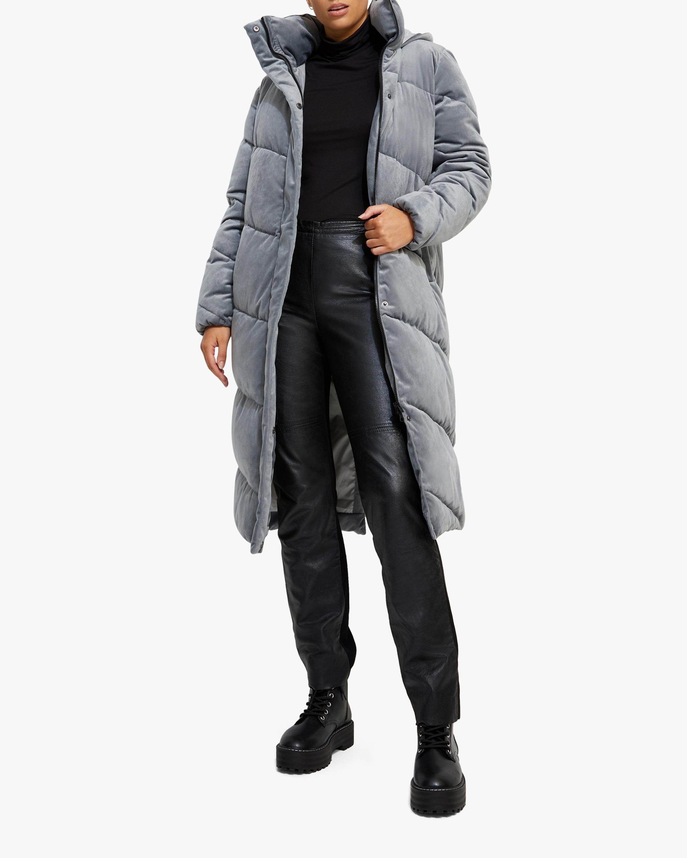 Unreal Fur Concrete Jungle Puffer Coat 2