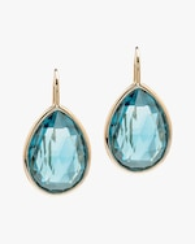 Goshwara Gossip Blue Topaz Earrings 0