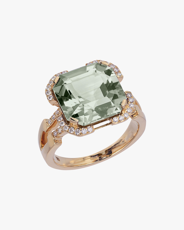 Goshwara Gossip Prasiolite Ring 0