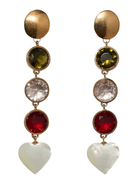 Nonna Heart Earrings