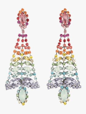 Lala Rainbow Statement Earrings